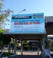 ENTRADA NOVA ESCOLA PAVÃO
